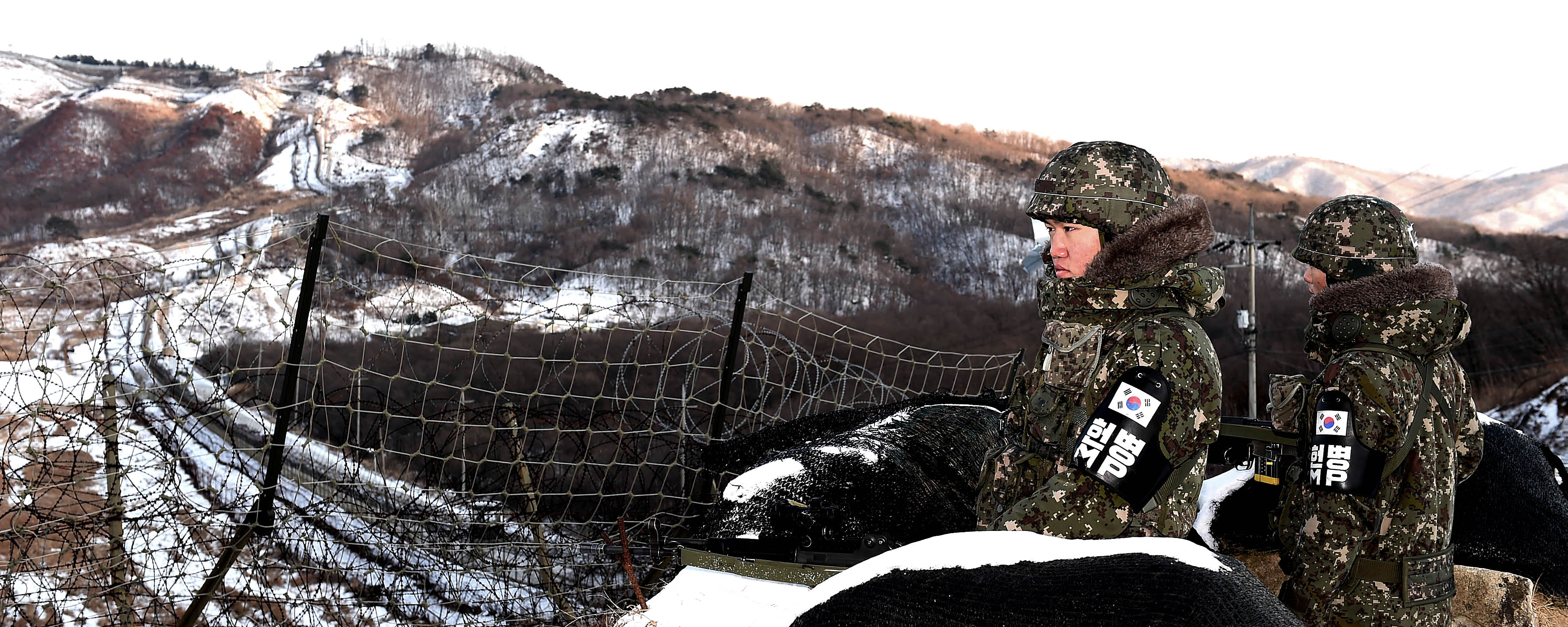남북한 휴전선 철책 비교
