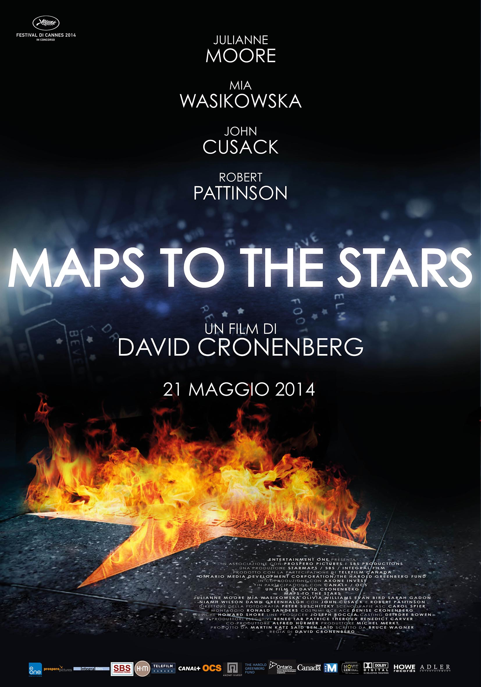 맵 투더 스타 (Maps to the Stars, 2014)