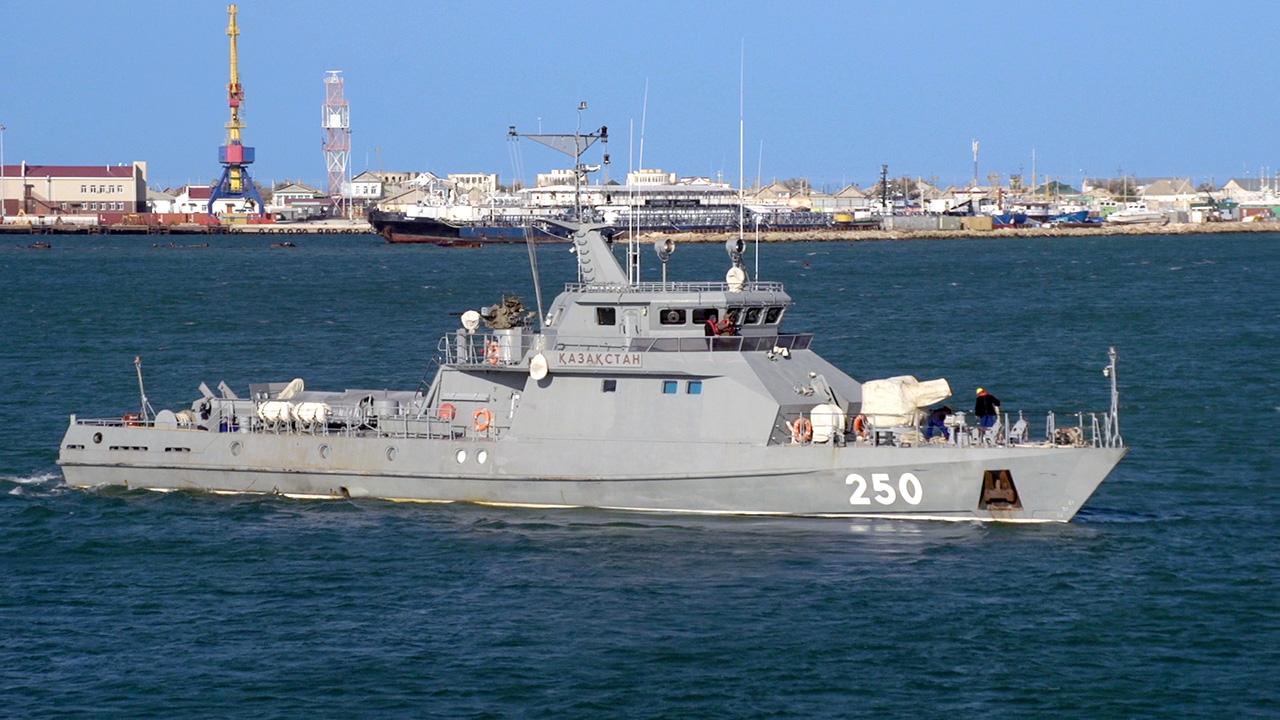 카스피해를 수호하는 카자흐스탄 해군 Kazakhst..