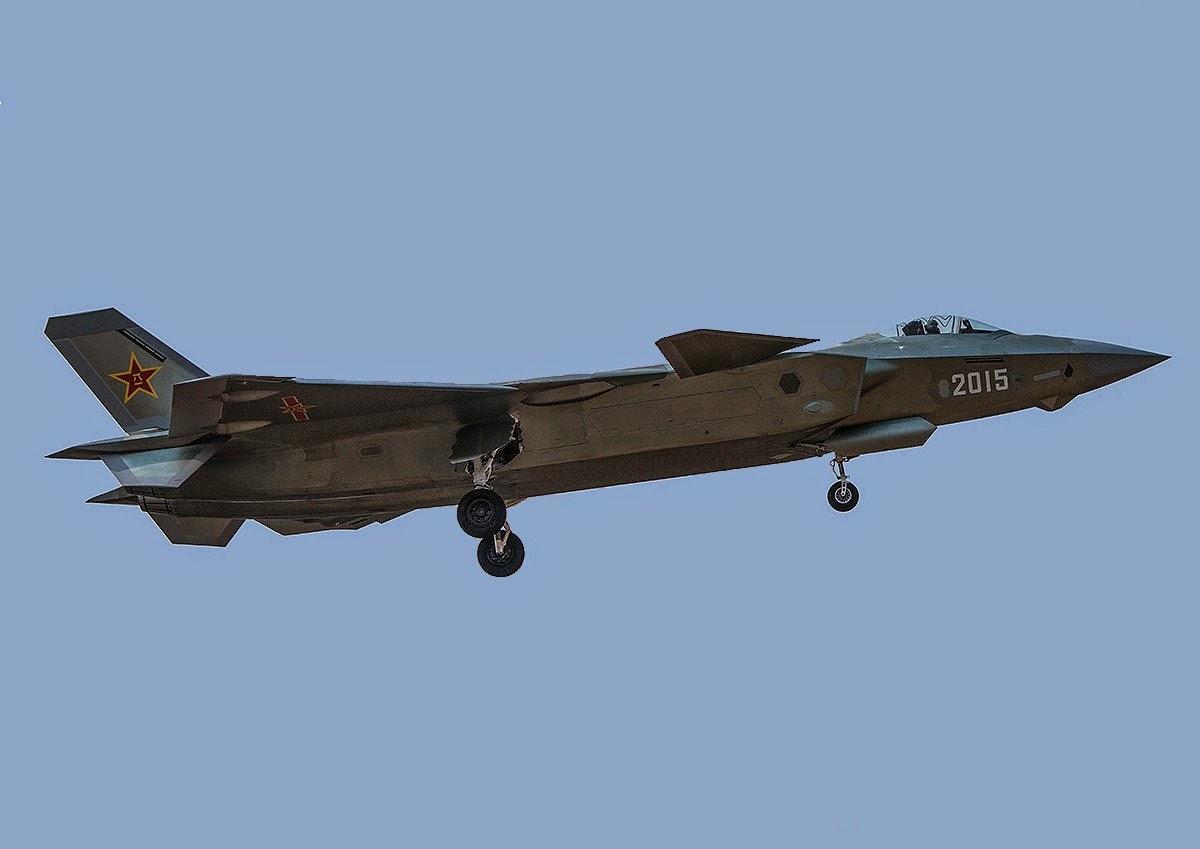 2015년형 중국 5세대 스텔스 전투기 첫 비행 ㅋㅋ