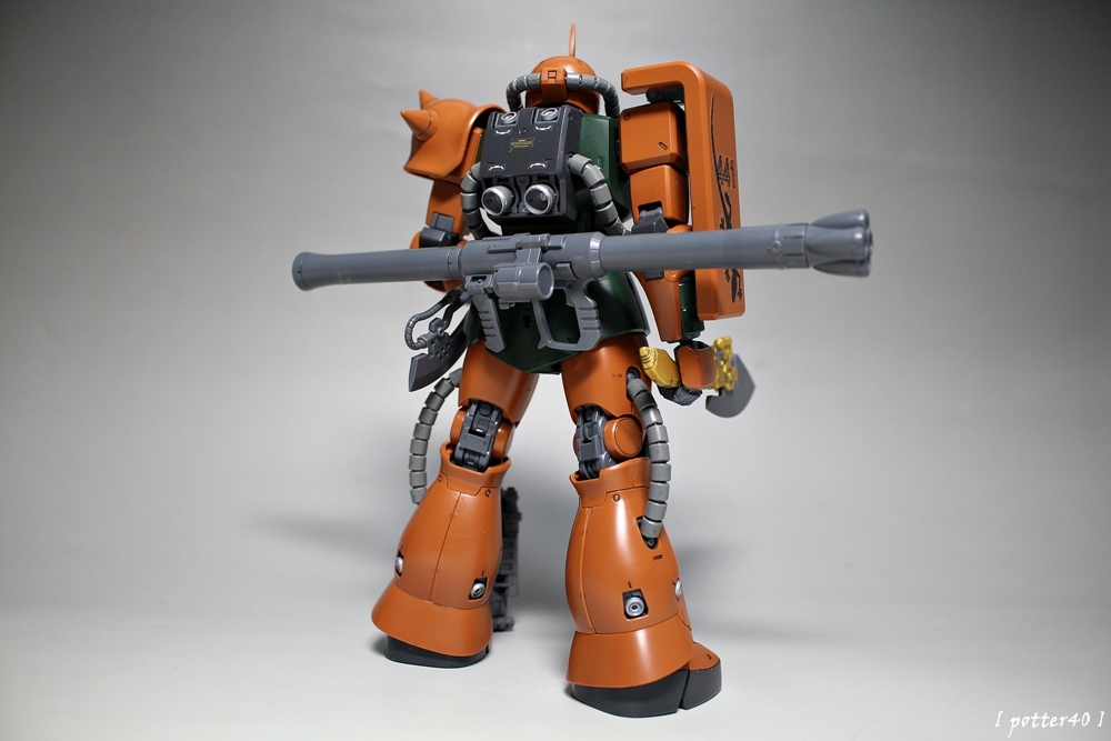 [MG] MS-06FS Zaku II - Garma Zabi use M..