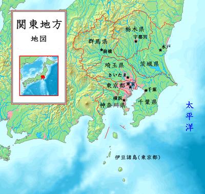 일본의 양대 산맥, 간토와 간사이(긴키)