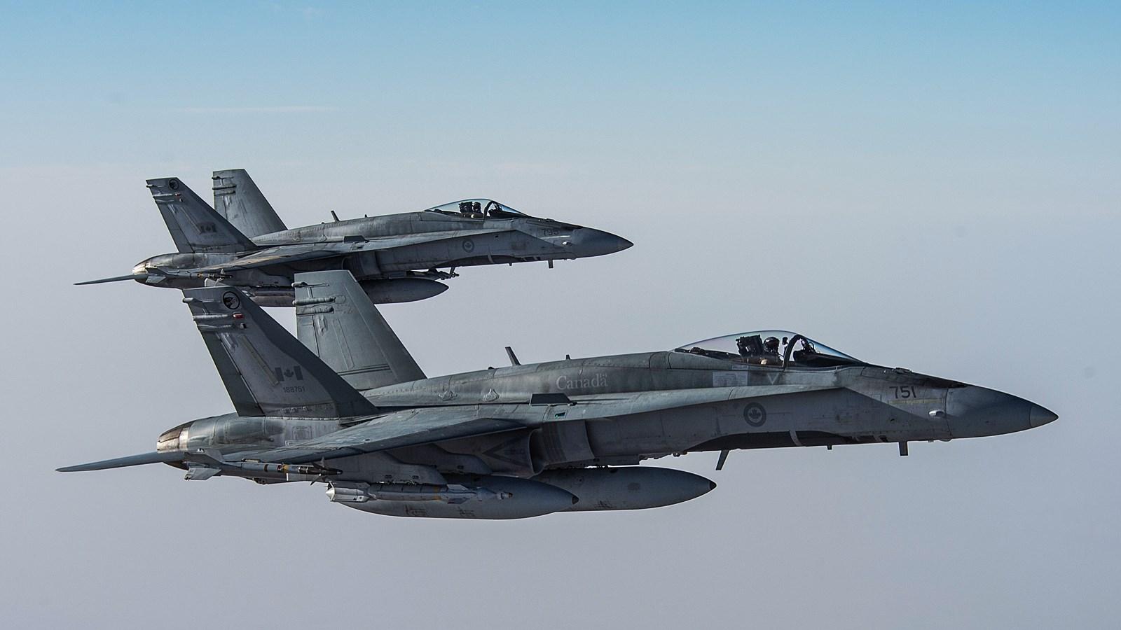요르단 '反 IS' 딜레마속에 IS 공습하는 캐나다공..