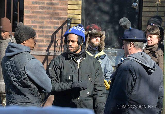 """정말 오랜만에 보는 록키의 스핀오프 """"Creed"""" 촬영.."""