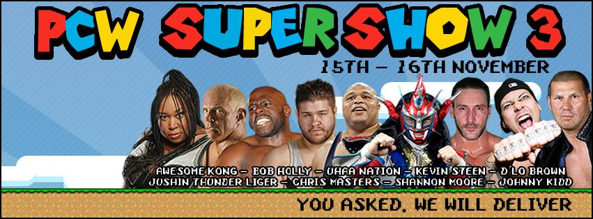 PCW SuperShow 3 Night 1 Review