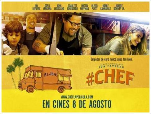 ★4.0 아메리칸 셰프(2014, Chef)