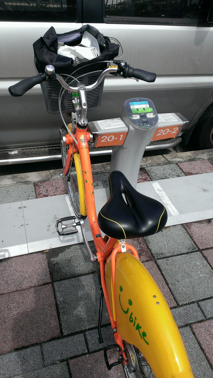 자전거 앞 바구니에 물건 놓고 잃어버린 에피소드