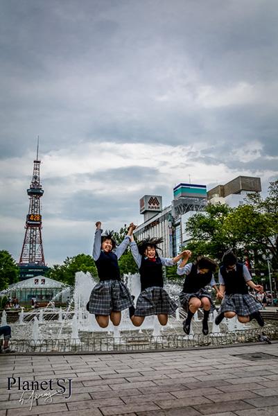 2014, Sapporo, Japan - Odori park (大通公園)