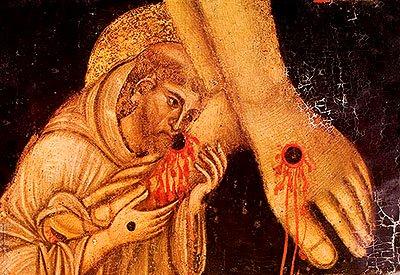 자궁 달린 예수의 남자친구 성 프란체스코St. Fran..