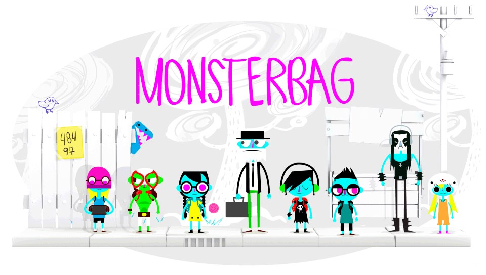 [PS Vita] 몬스터 백 (Monster Bag, 2015, Ig..