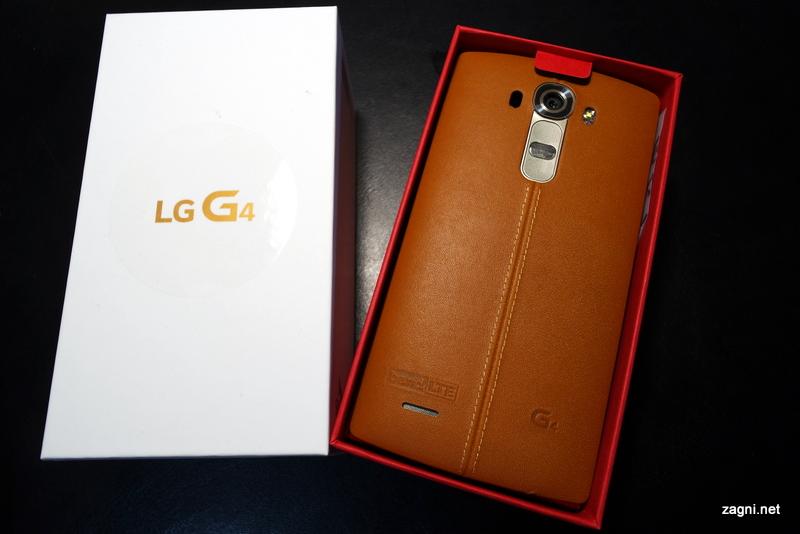 LG G4 오픈 케이스, 스티치가 살아있네?