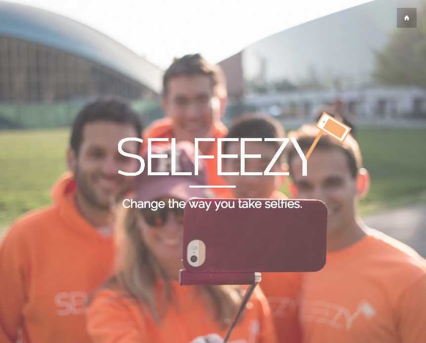 따로 들고다니지 않아도 되는 셀카봉 - Selfeezy