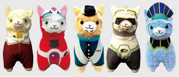 일본 애니메이트, TIGER & BUNNY 캐릭터들의..