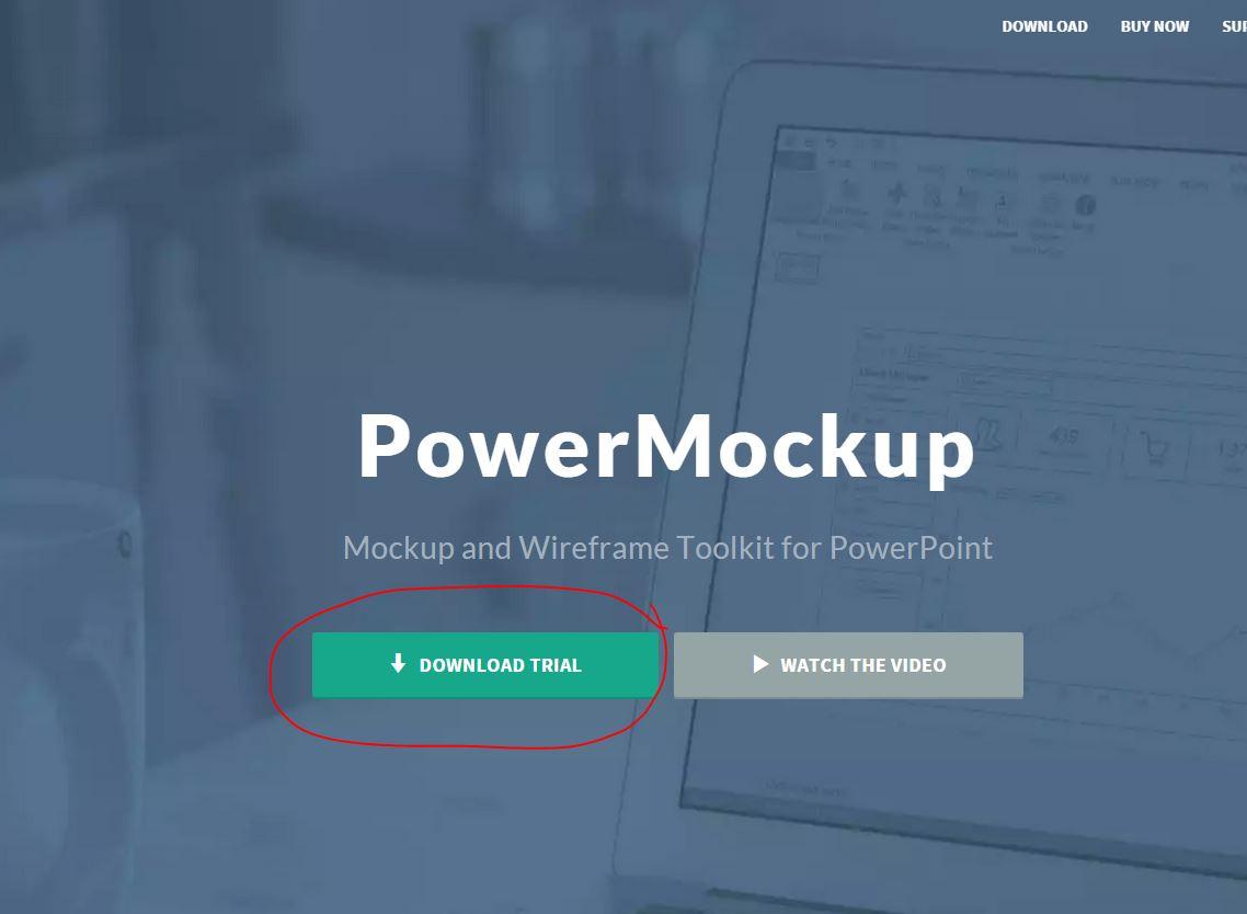 [PowerMockup]을 써보자!