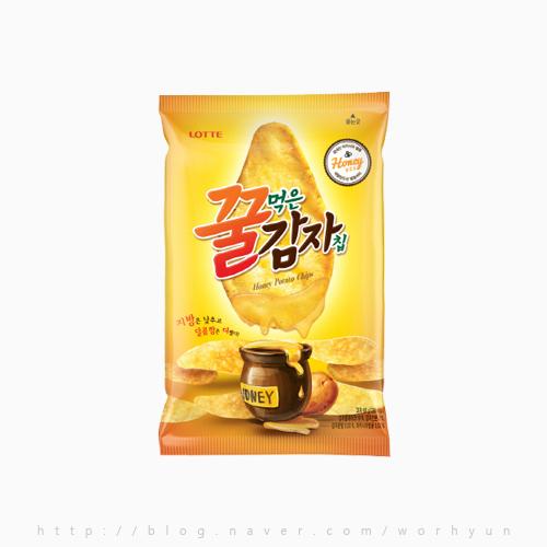 [사적인*신과자사전]롯데-꿀먹은 감자칩