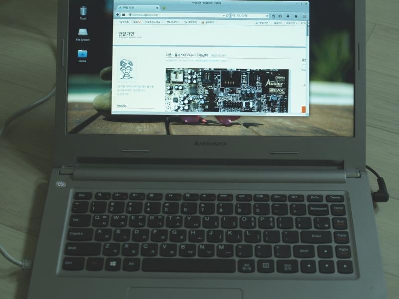 레노버 S435 노트북 구입 - 리눅스(주분투 14.04.2)..
