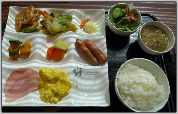 [홋카이도] 삿포로 호텔에서의 아침 식사들