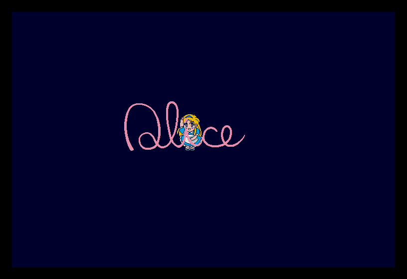 [X68000] Ayumichan Monogatari (1994, Alice..