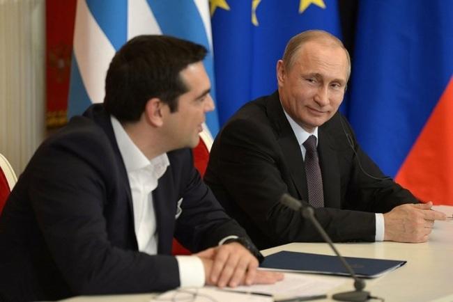 그리스 사태를 바라보는 푸틴의 관점은?