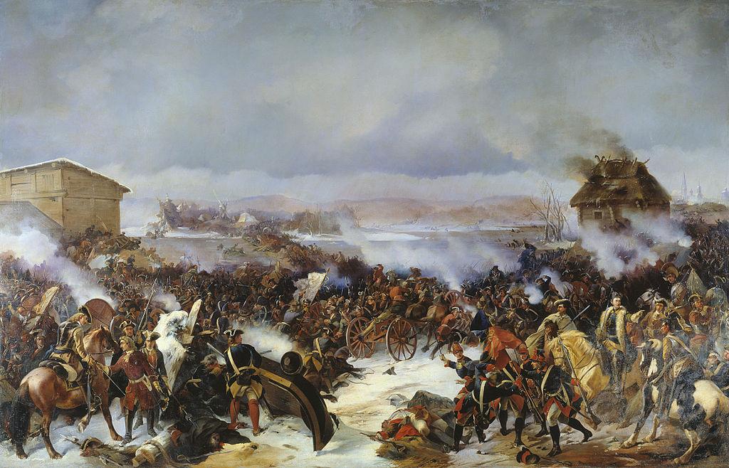 러시아 역사 이야기 32. 나르바 전투
