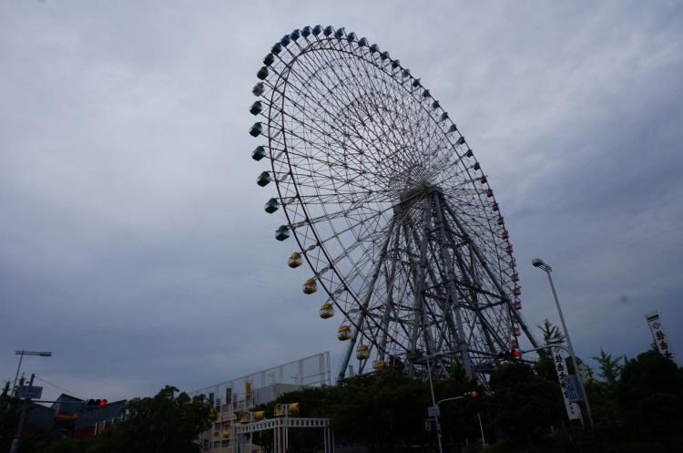 [일본여행] 오사카 덴포잔 대관람차 Tempozan..