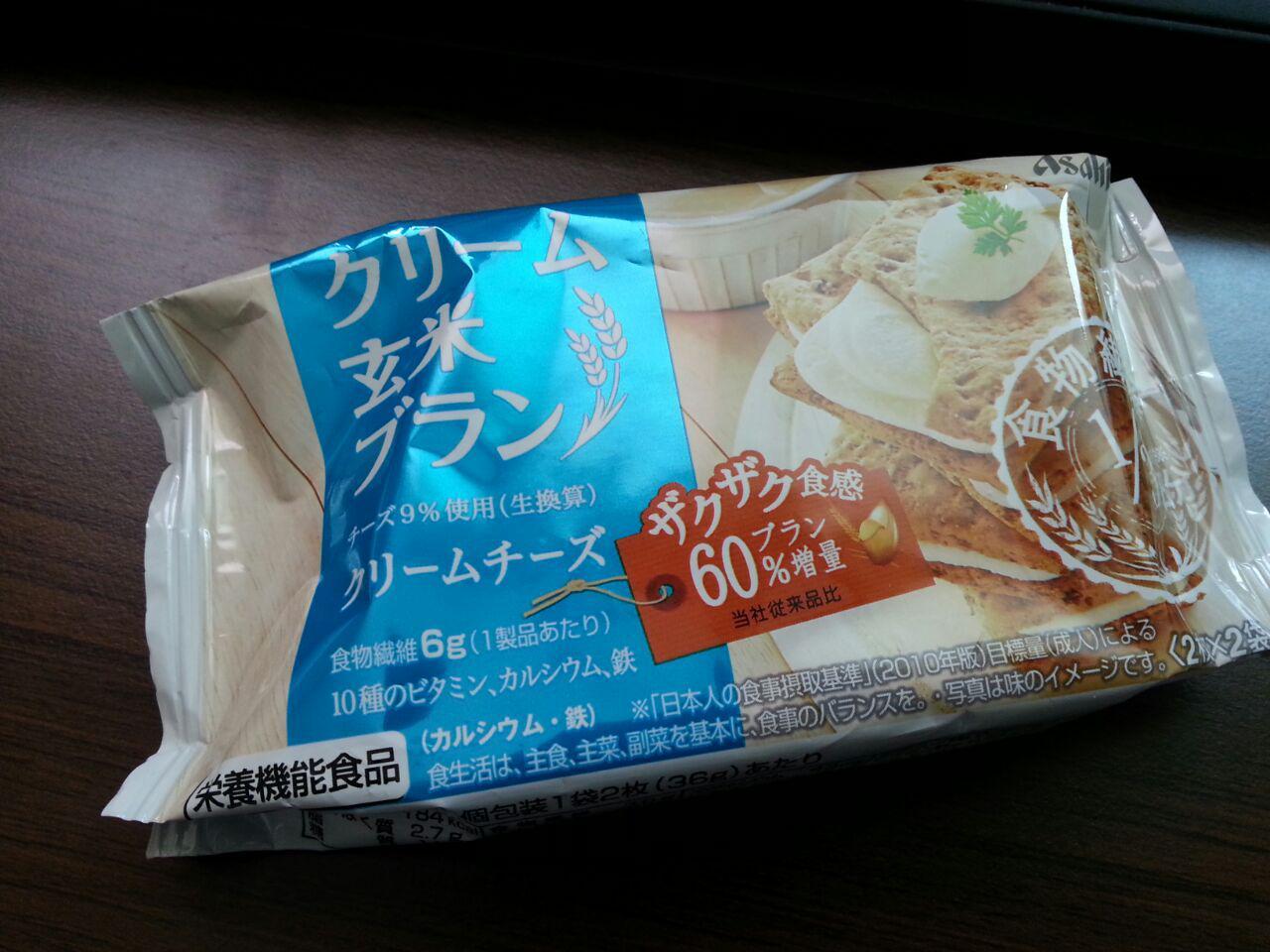 [Asahi] 크림 현미 브란 크림치즈맛