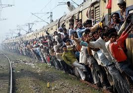인도 기차의 위엄