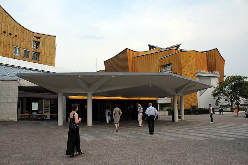 베를린 필하모닉 공연장의 추억