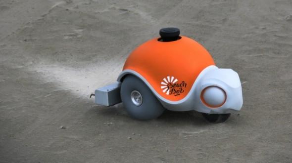 모래 사장에 그림을 그려주는 로봇, 비치 봇