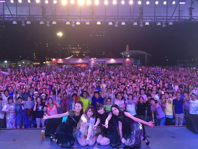 후지TV 개최 라이브 공연에 출연한 Kalafina와 ..