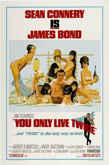 007 두 번 산다 - 제임스 본드, 일본서 결혼하고 유..
