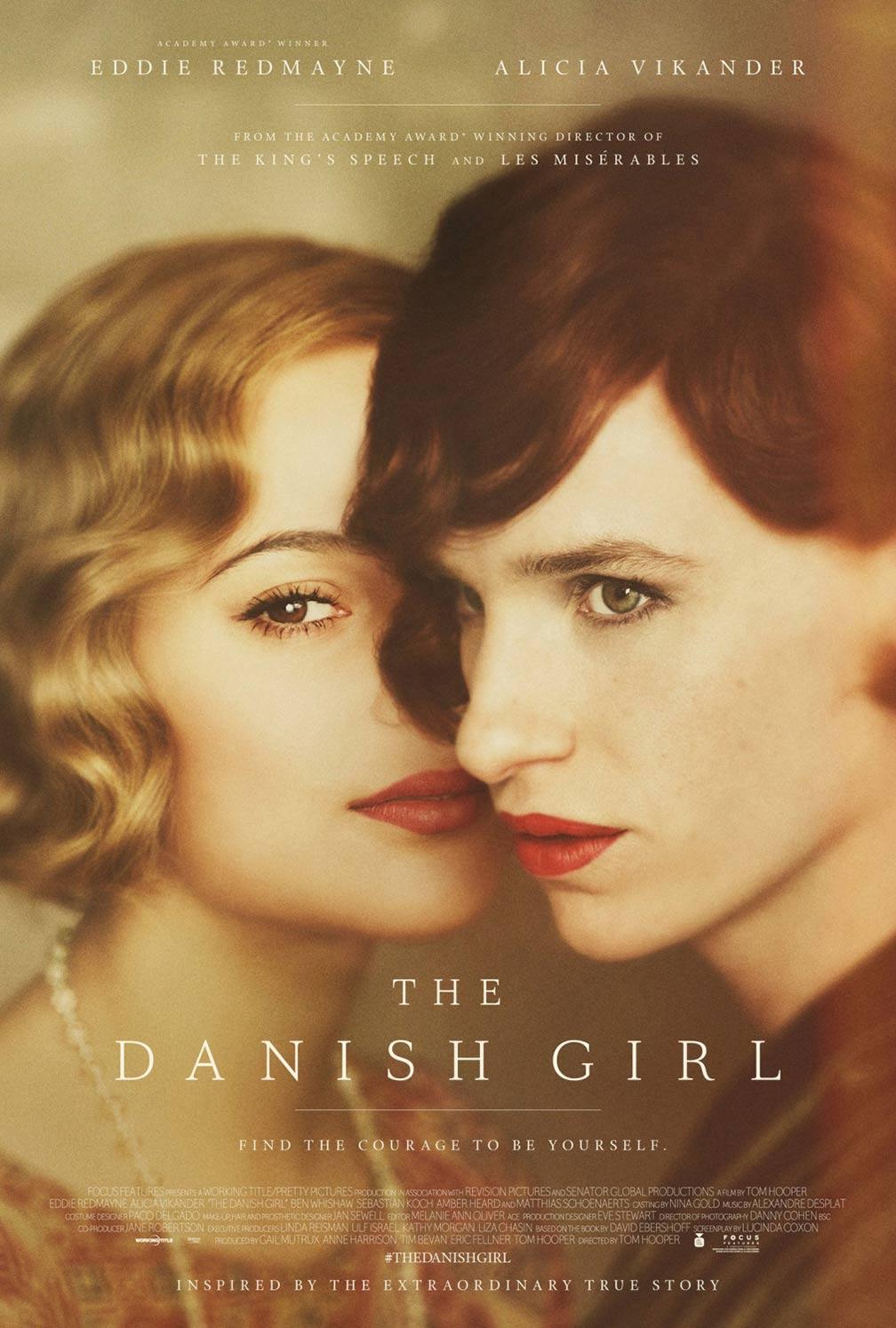 """에디 레드메인의 """"The Danish Girl"""" 예고편입니다."""