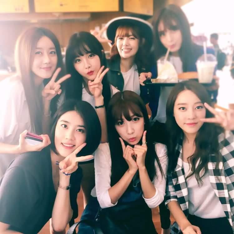 레인보우의 미녀들