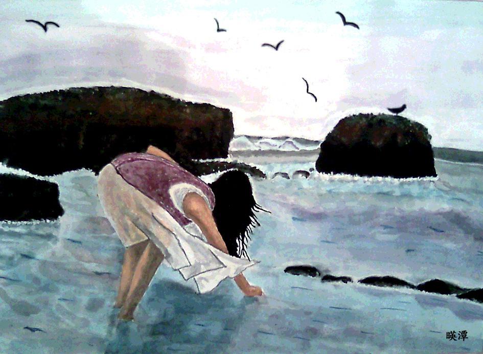 [풍경화] 바다의 여인