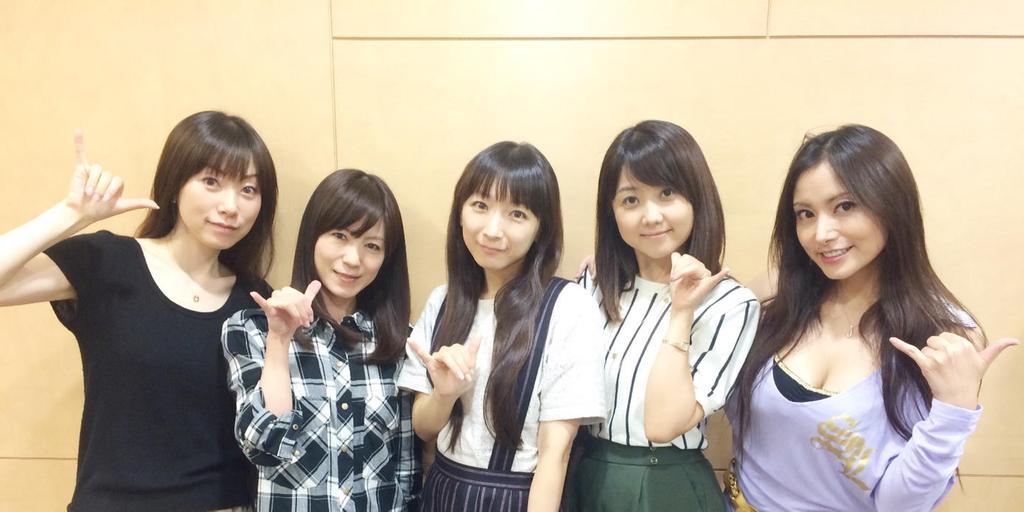 성우 유닛 Aice5가 게스트 출연한 라디오 방송 기념..