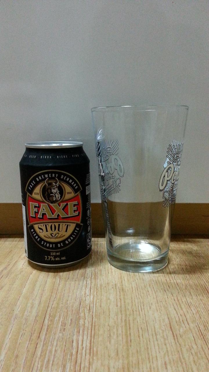 [덴마크] FAXE Stout(팍세 스타우트) 진한 쌉..