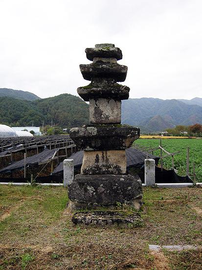 영월 무릉리 삼층석탑