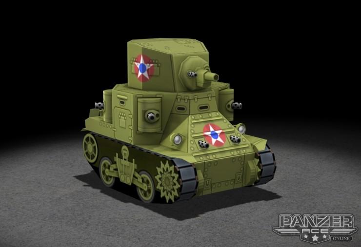 [SD TANK] M2A1 Medium Tank