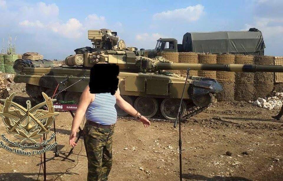 시리아 공군기지에서