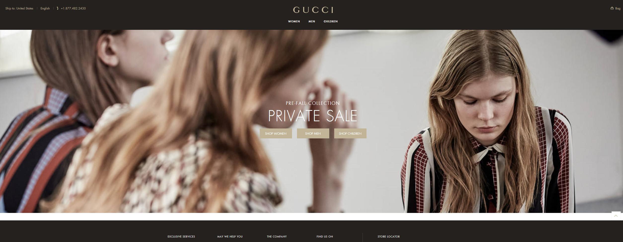 구찌 Gucci 2015 가을/겨울 제품 최대 50% 세일