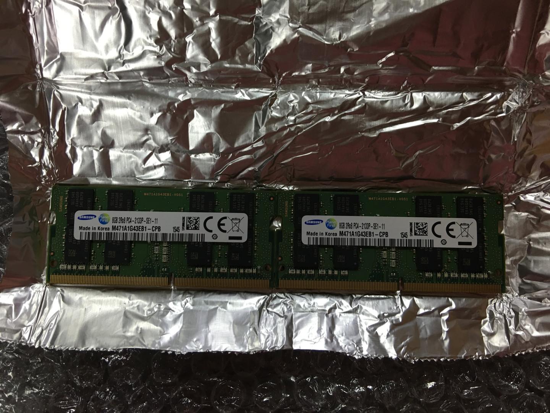 한성컴퓨터 EX76XG-BossMonster One X17 메모리..