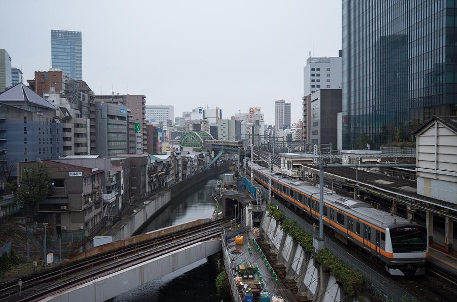 151213, 일본여행 #28 오차노미즈역, 노면전차타고..