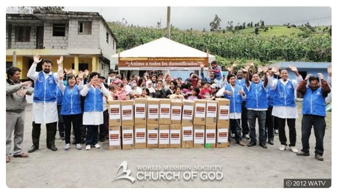세상을 밝히는 촛불... 하나님의교회 봉사활동