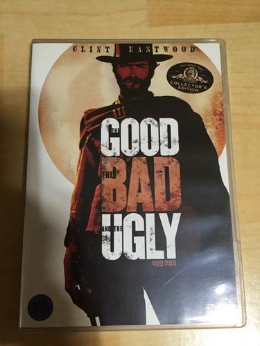 """""""석양의 무법자"""" DVD를 샀습니다."""