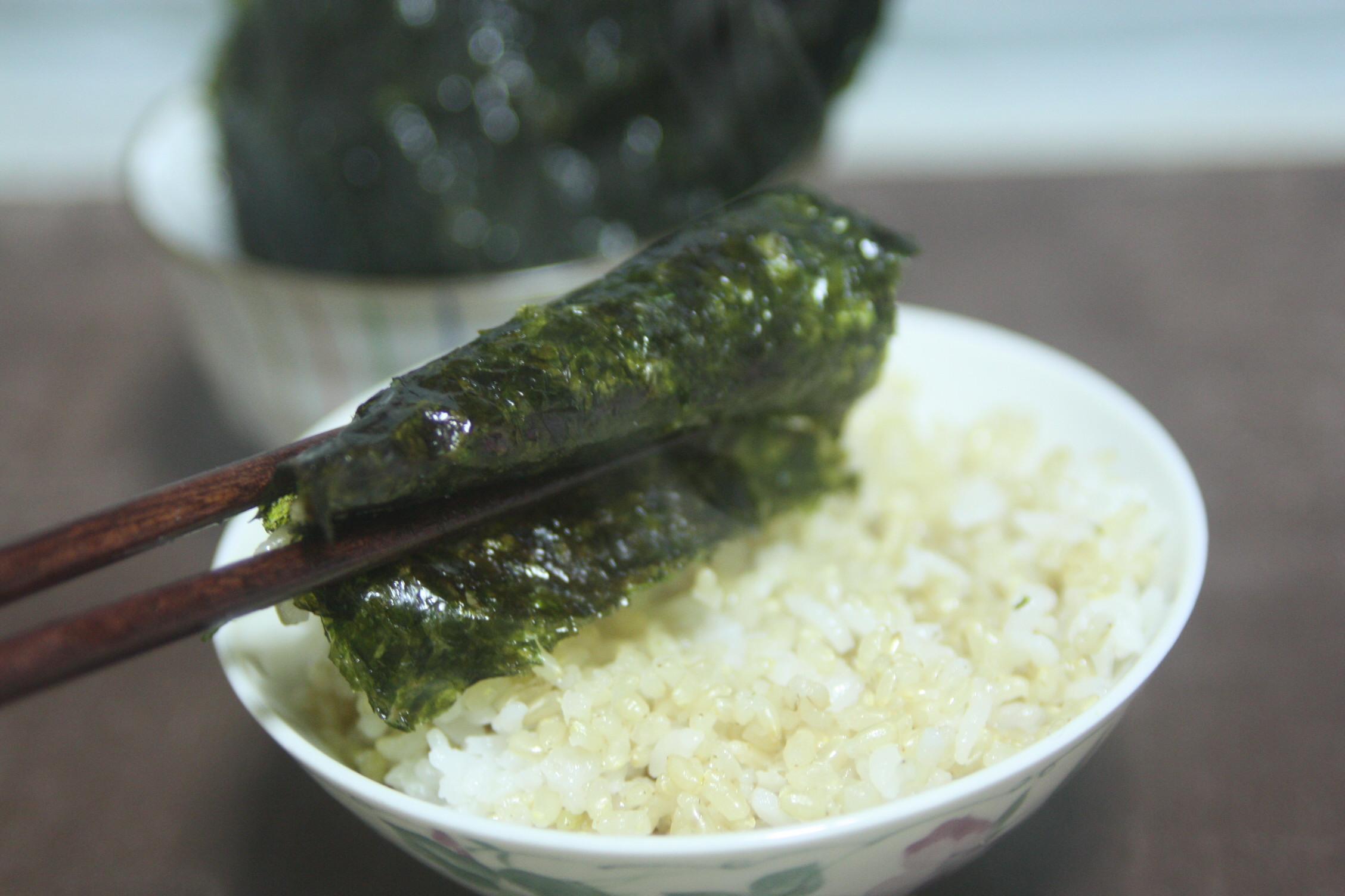 집에서 만드는 김구이, 먹을 때만 좋다.