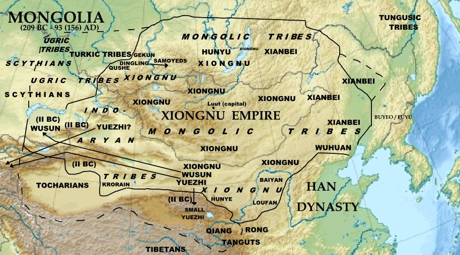 고대 내륙아시아 유목민의 경제 그리고 중국 (1)