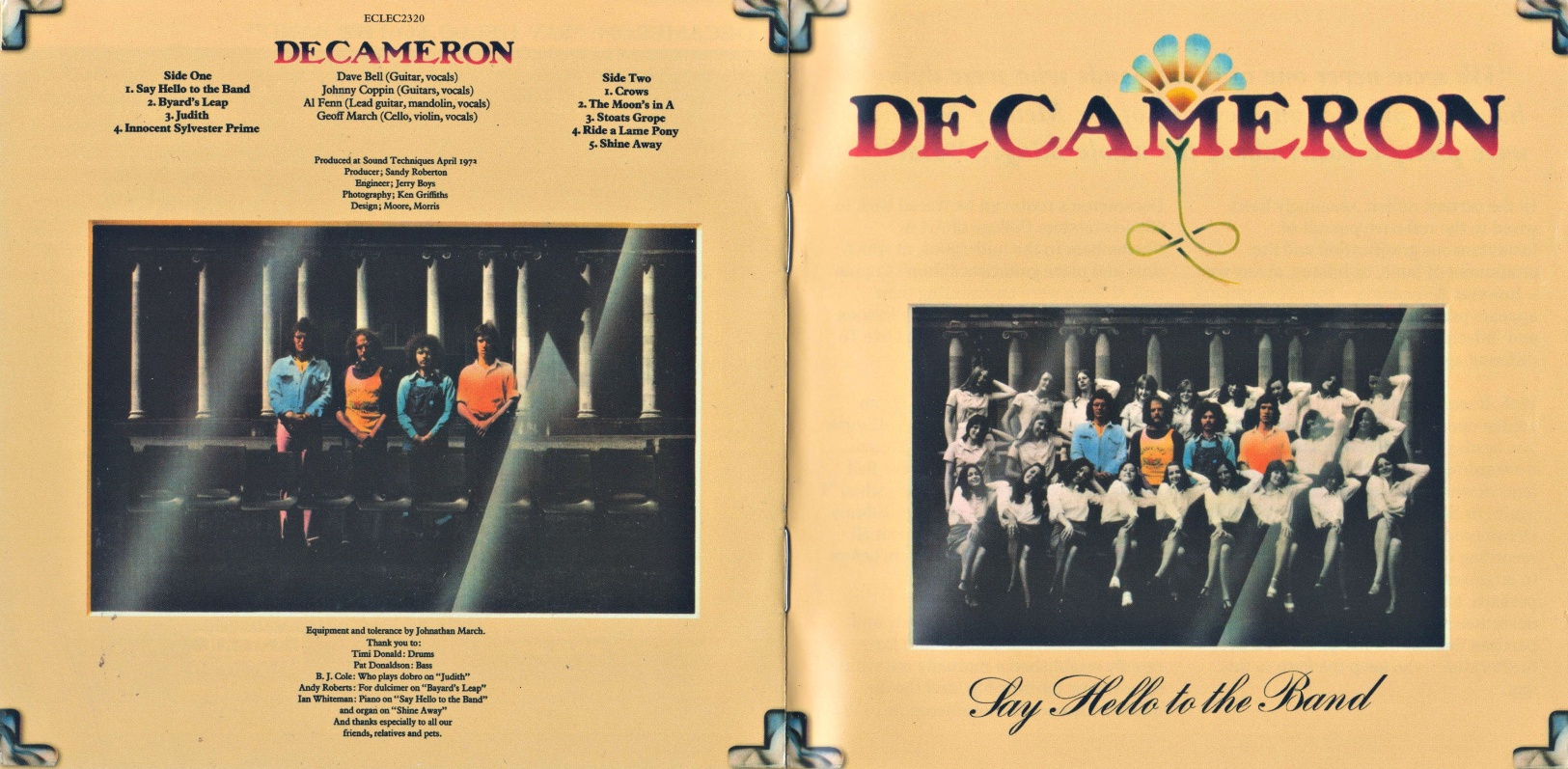 Decameron - Say Hello To The Band