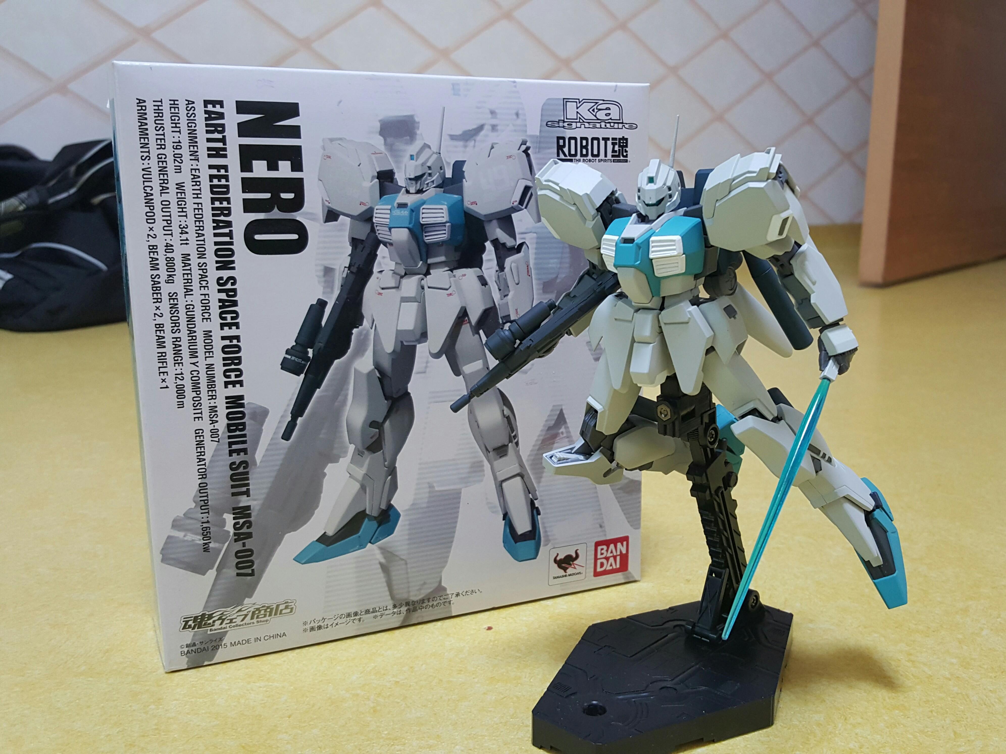 로봇魂 Ka Signature MSA-007 네로(Nero)