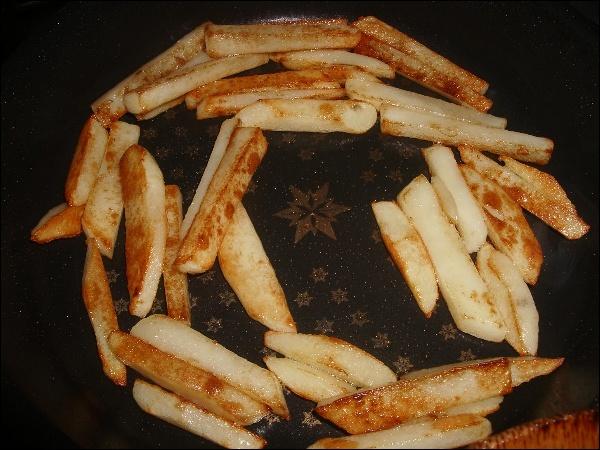 감자튀김, 감자볶음, 당근볶음