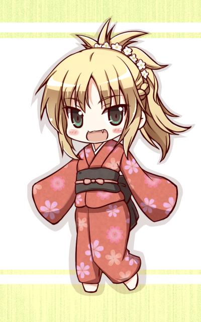 160415 - SD 모드레드 ver.기모노 (페그오)